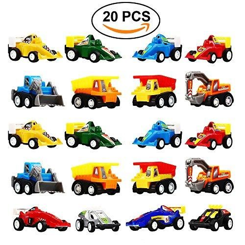 Buy DIMY Toys for 3-6 Year Old Boy, Pull Back Cars 20 Pcs Gift Pack for Toddlers Infants Educational Toys Gifts PULL03 Online at Low Prices in USA images