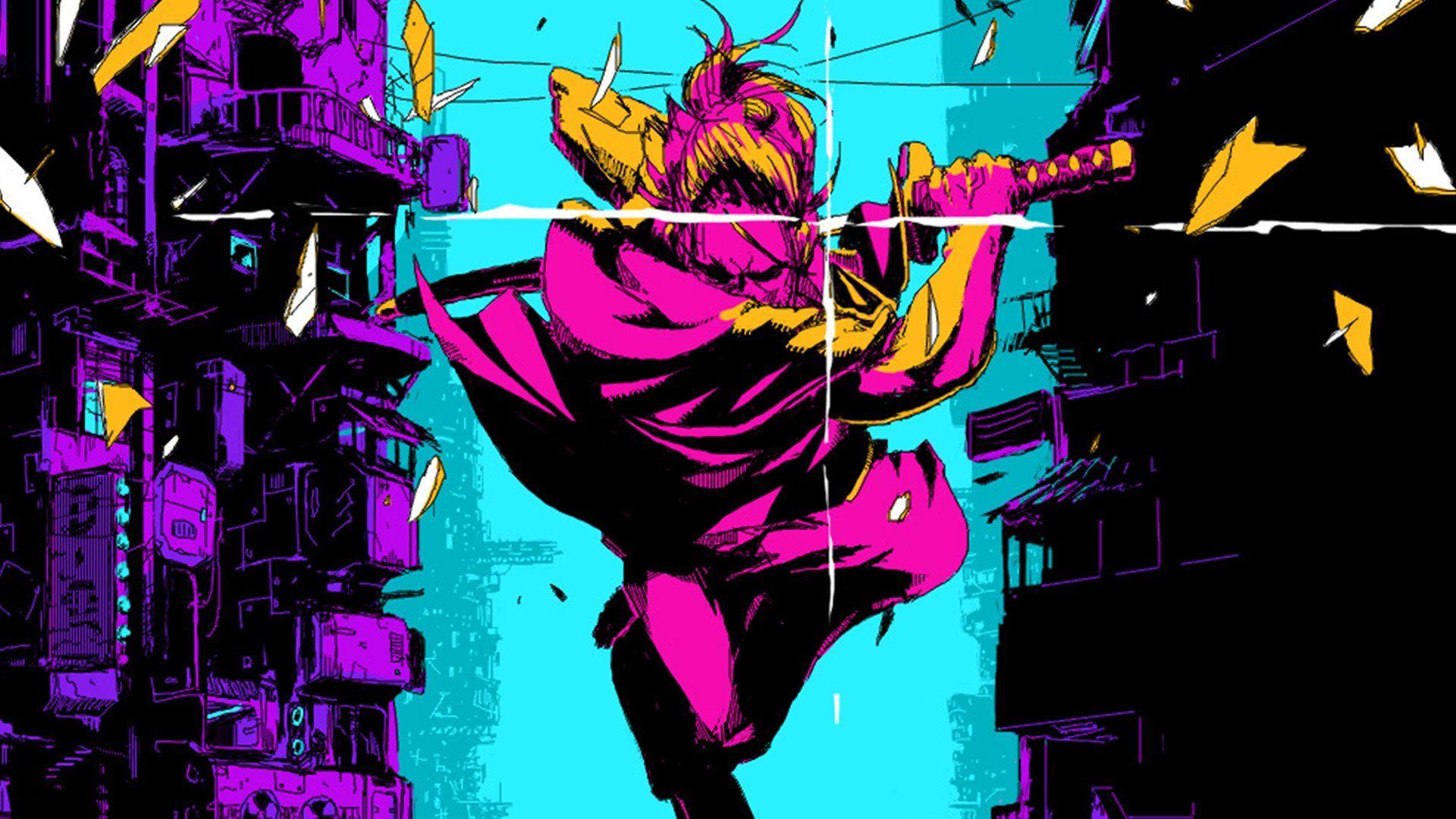 Let S Play Katana Zero High Octane Samurai Action 6 Years In The Making Katana Zero S Creator Justin Stander Stops By Arte De Jogos Desenhos Criativos Anime