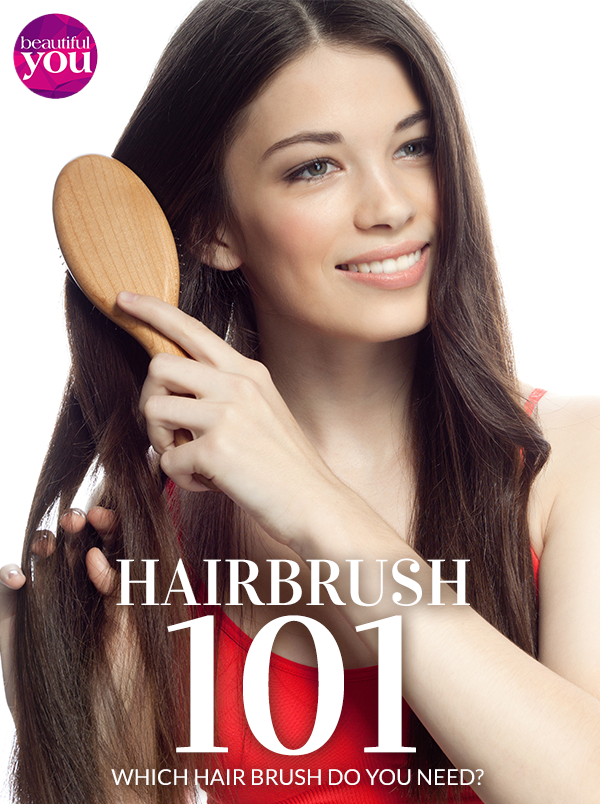 Learn how to choose your hair brush to suit your hair type on #BeautifulYou #Pakistan