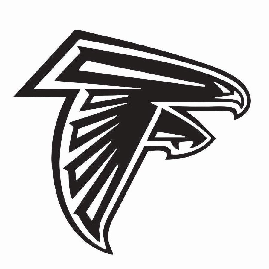 Atlanta falcons nfl football vinyl die cut car decal sticker free shipping