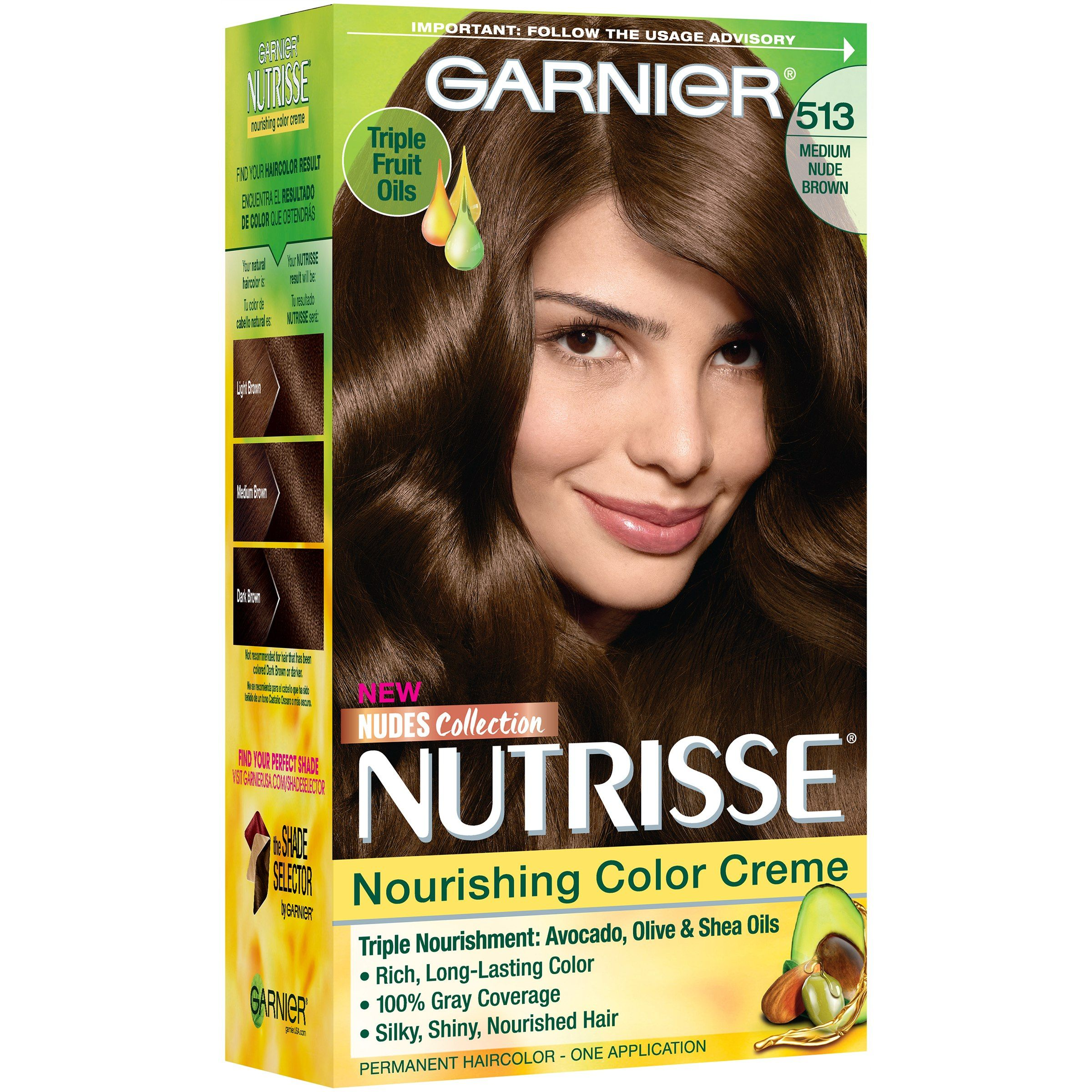 What A Beautiful Color I Did Garnier Medium Brown Last Time And Am