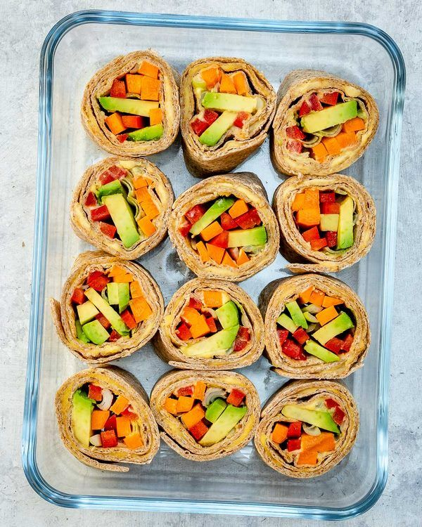 Vegetable Sushi Vegan Recipes Office Lunch Ideas Lunch Box