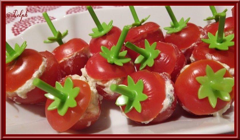 Tomates farcies au Tzatziki - Oh, la gourmande..