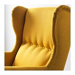 ohrensessel strandmon skiftebo gelb gelbe wand chair. Black Bedroom Furniture Sets. Home Design Ideas