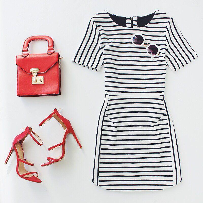 take me to Paris ❤️ #ootd #stripes #chic #LOVELULUS