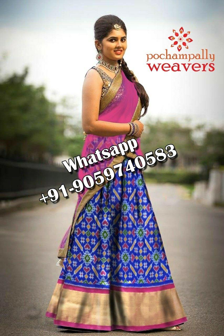 3c44a902264172 WhatsApp +91-9059740583  Pochampally  pureSilk  lkatSarees