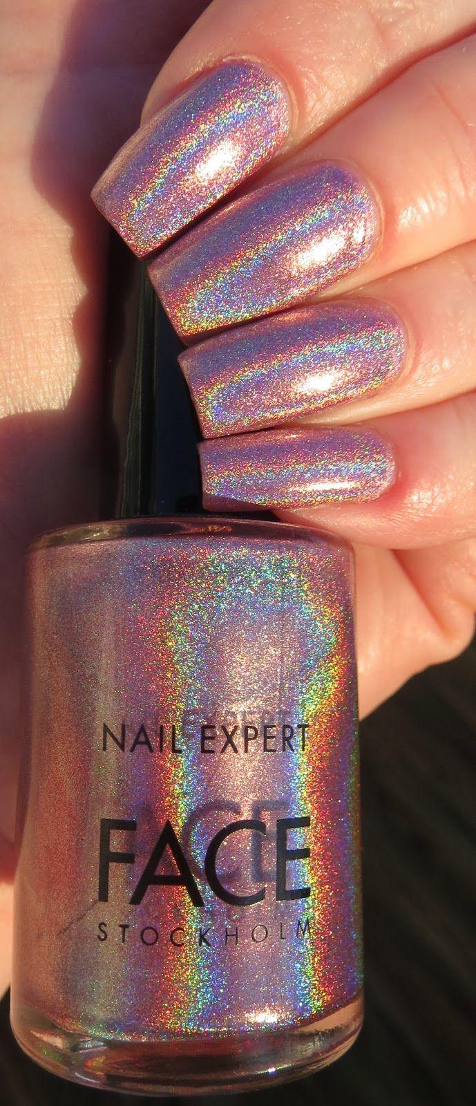 FACE Stockholm Aphrodite Manicure   Purple nail designs, Purple nail ...
