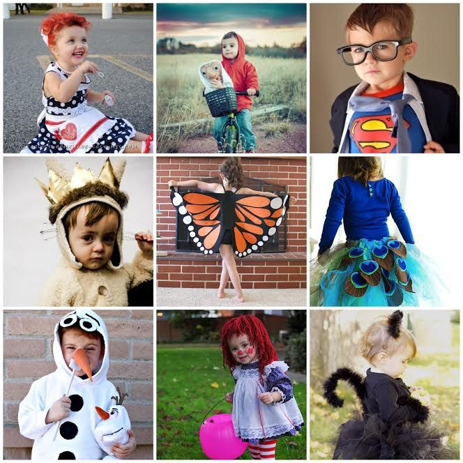 25 adorable diy halloween costumes for kids theidearoomnet - Halloween Costumes Diy Kids