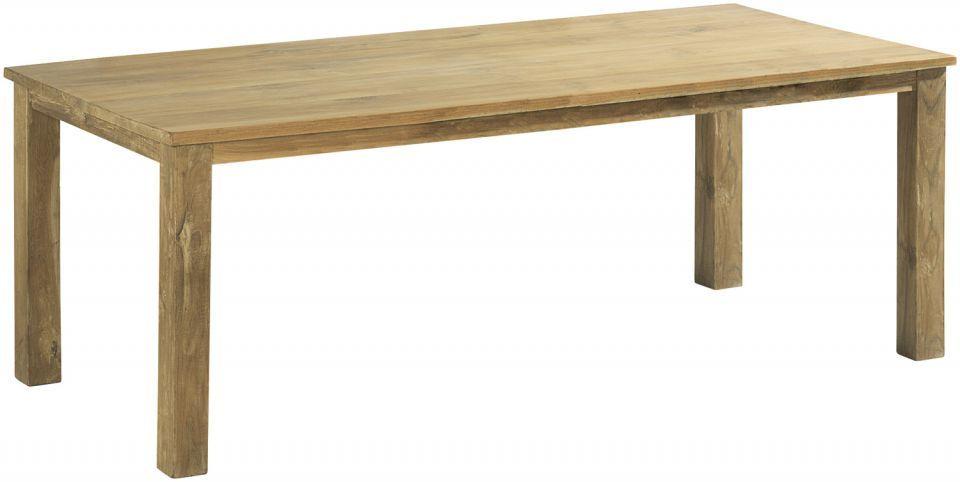 Mondeo is een complete tafelserie uit massief , eerste klas teakhout. Kenmerkend voor de Mondeo tafels is de strakke belijning, de strakke rechte poten en het blad dat een kleine overstek heeft.