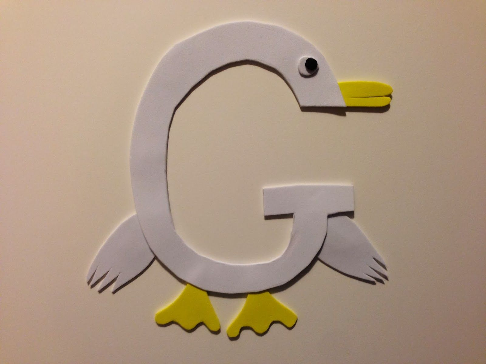 Pin It Make It Animal Alphabet Letter G  Goose  My Creations
