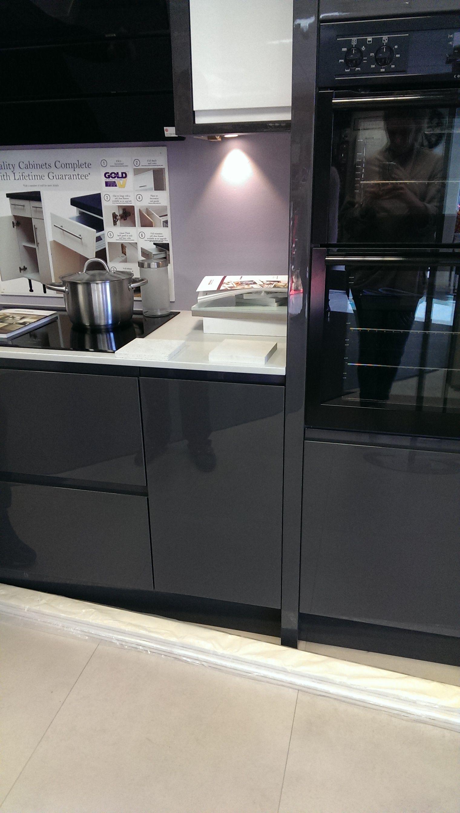 Benchmarx holboln grey kitchen showroom Kitchen showroom
