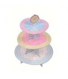 Soporte de 3 pisos cupcakes - cake stand  12€ Spain
