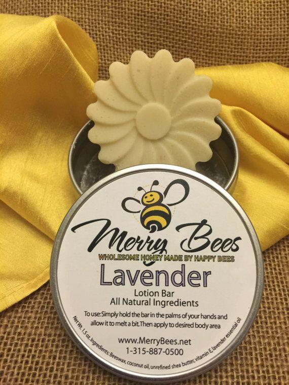Lotion Bar *Lavender *Lemongrass *Peppermint