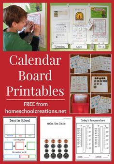 Photo of Our Calendar and Morning Board Routine (and FREE Printables)