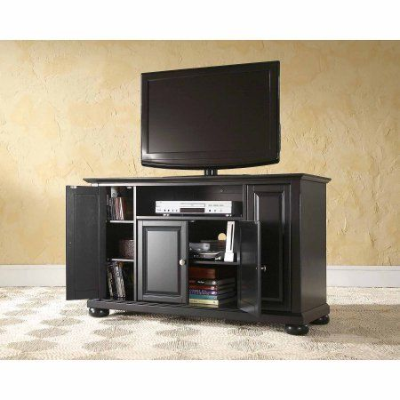 Crosley Furniture Alexandria Tv Stand For Tvs Up To 48 Inch Black