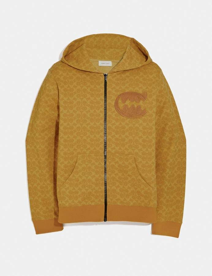 3d9b23c9e9 Coach Signature Rexy By Guang Yu Hoodie in 2019 | Products | Hoodies ...