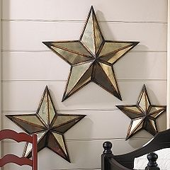 mirrored stars | My Home | Pinterest | Cafe tables, Fireplace ...