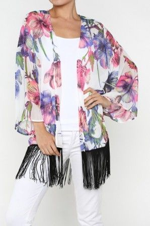 salediem #fashion #sweaters #cardigans #flowers #plus #summer ...