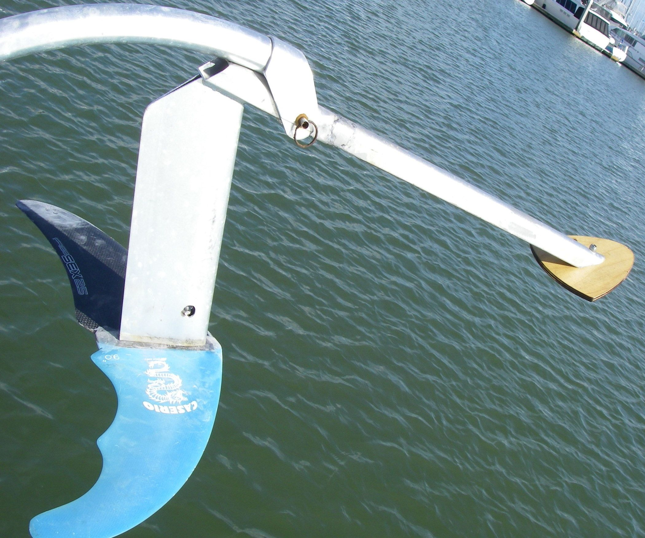 Make a Hydrofoil Blade From Windsurfer Fins Windsurfing