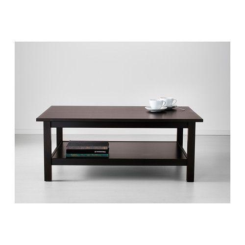 hemnes bord, brunsvart | hemnes, coffee and solid wood