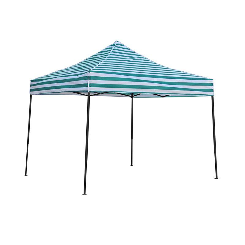 Trademark Innovations 10 x 10 ft. Striped Pop Up Canopy Tent Blue - 10FTCAN-BUSTR  sc 1 st  Pinterest & Trademark Innovations 10 x 10 ft. Striped Pop Up Canopy Tent Blue ...