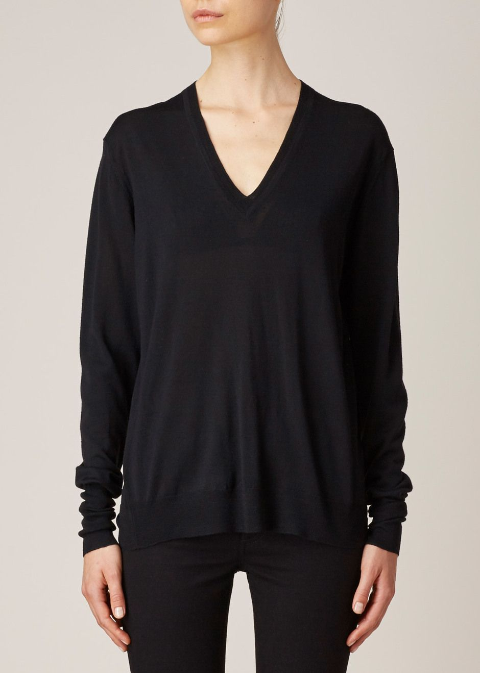 lightweight V-neck sweater - Black 6397 Cheapest Sale Online Sale Websites mdMLr