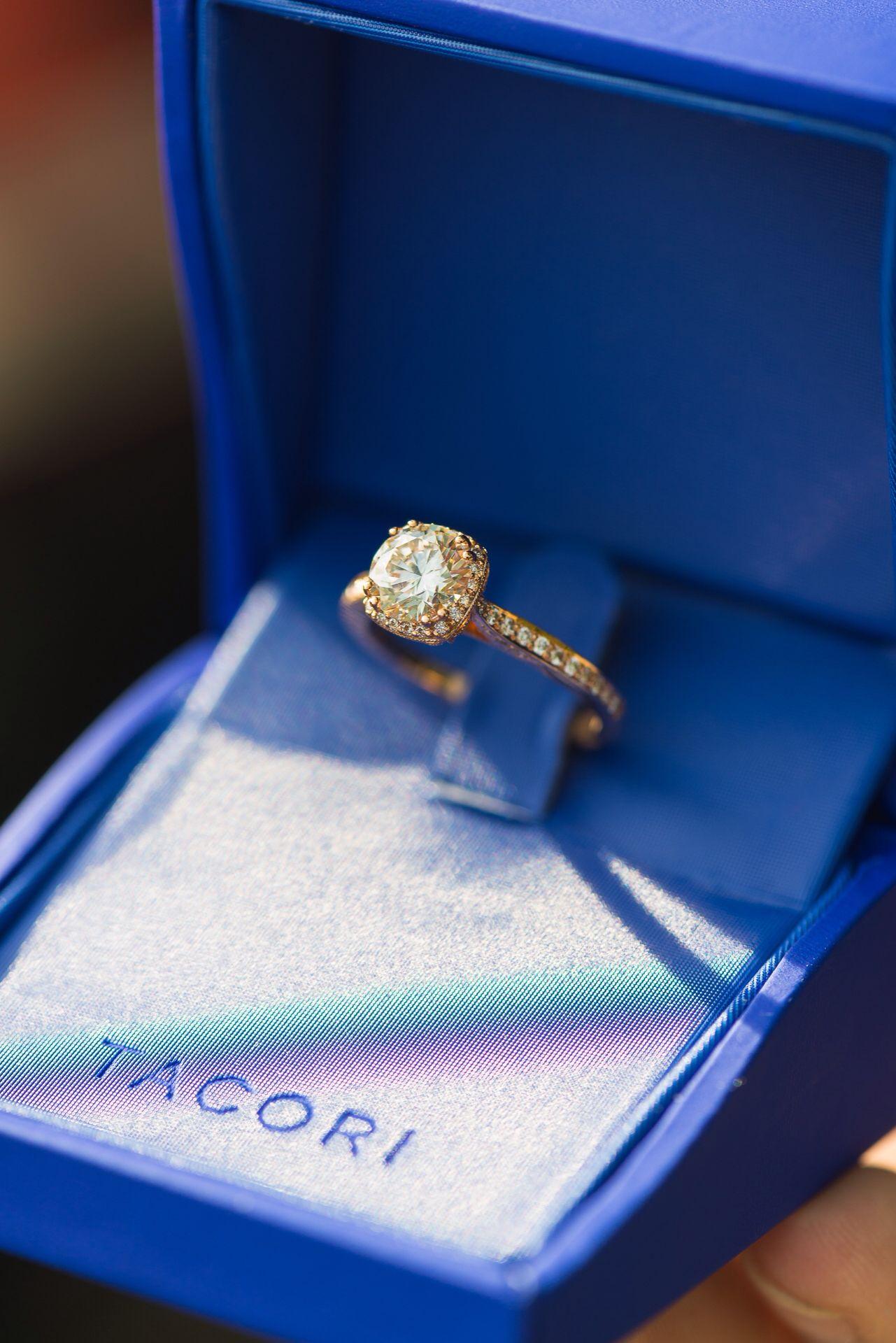 My tacori rose gold engagement ring rose gold engagement