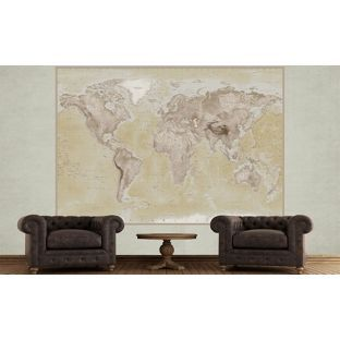 Buy 1wall natural 2 piece deco world map mural at argos your buy 1wall natural 2 piece deco world map mural at argos gumiabroncs Image collections