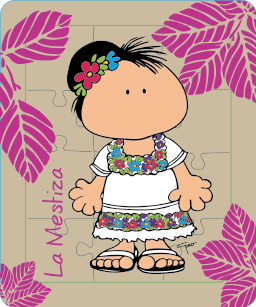 Mestiza Mestiza Yucateca Manualidades Munecas Mexicanas
