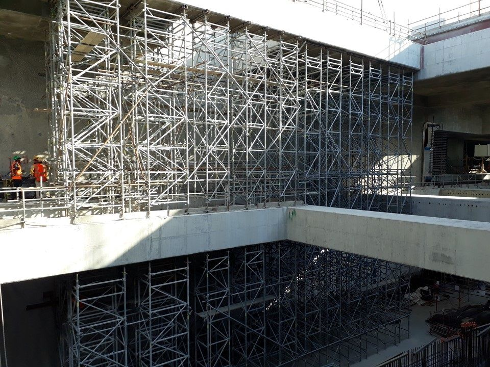 Delmon Scaffolding Makes The Cut in Doha! - GineersNow