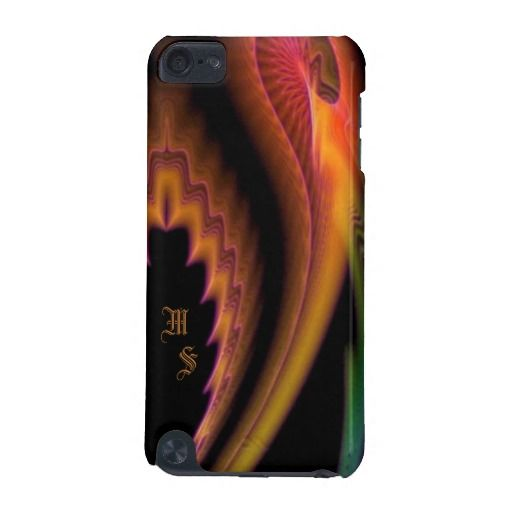 Bullet of Color Monogram iPod Touch