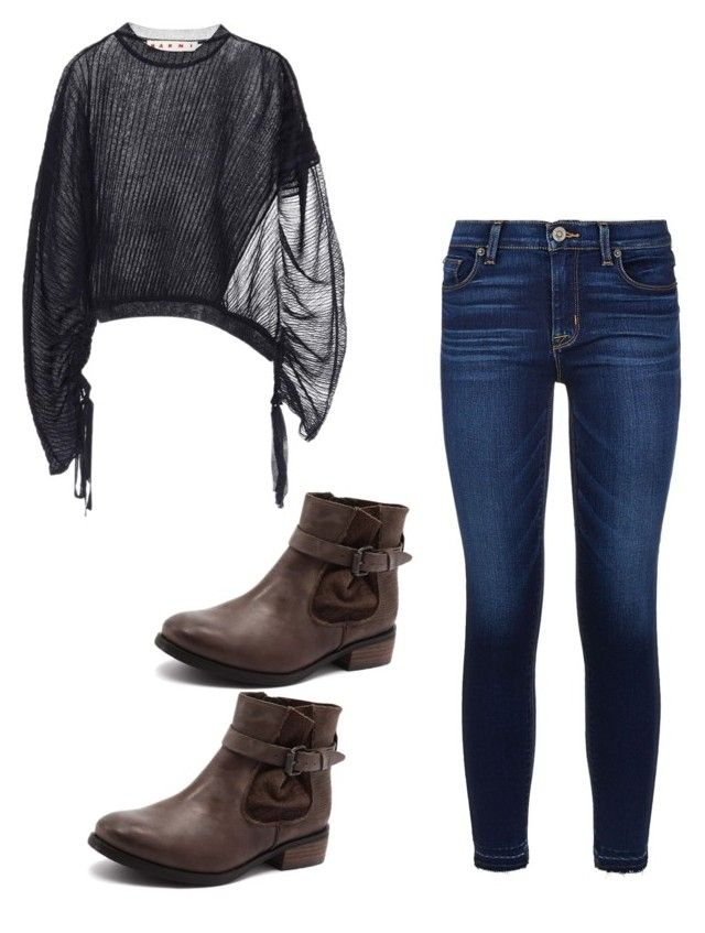 """""""Mila's casual wear"""" by pantsulord on Polyvore featuring Marni and Hudson"""