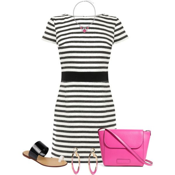 A fashion look from March 2015 featuring black dress, leather sandals and crossbody purse. Browse and shop related looks.