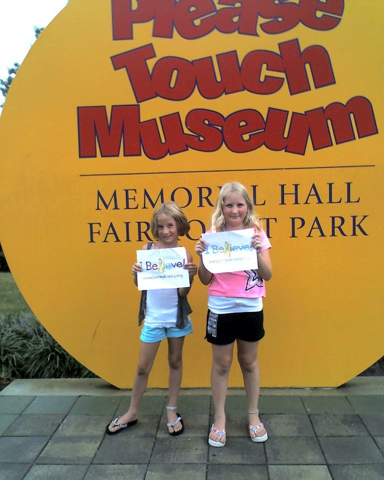 Gabby's Big Sister's Believe at the Please Touch Museum!