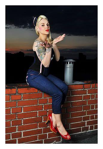 retro tattoos