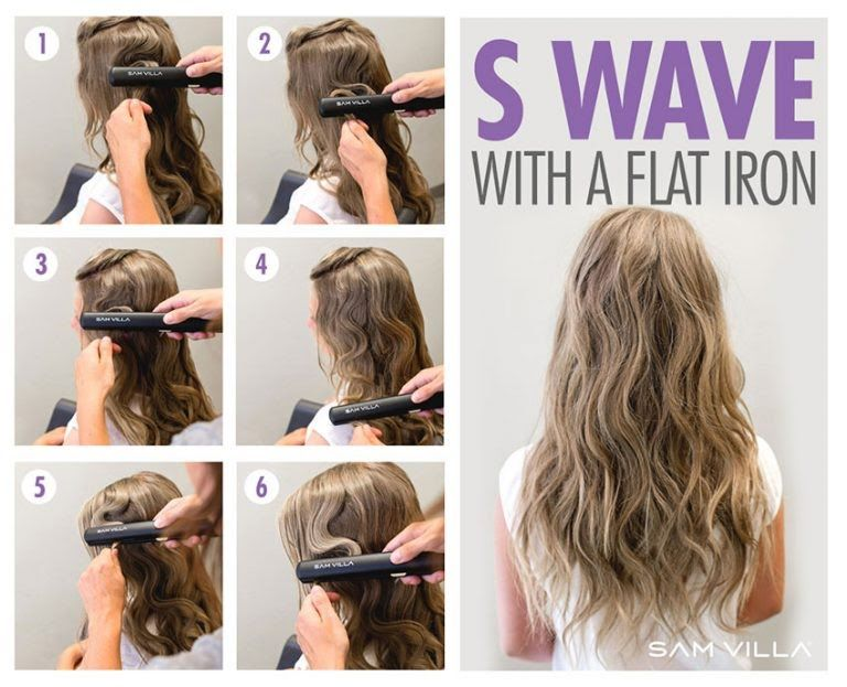 How To Curl Your Hair 6 Different Ways To Do It Hair Waves Curling Hair With Flat Iron Curls With Straightener