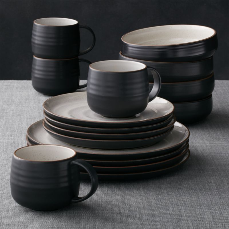Bring a little style to your table with dinnerware sets from Crate and Barrel. Shop online for bone china porcelain stoneware and earthenware.u003eu003e & 18th Street 16-Piece Dinnerware Set | Pinterest | China porcelain ...
