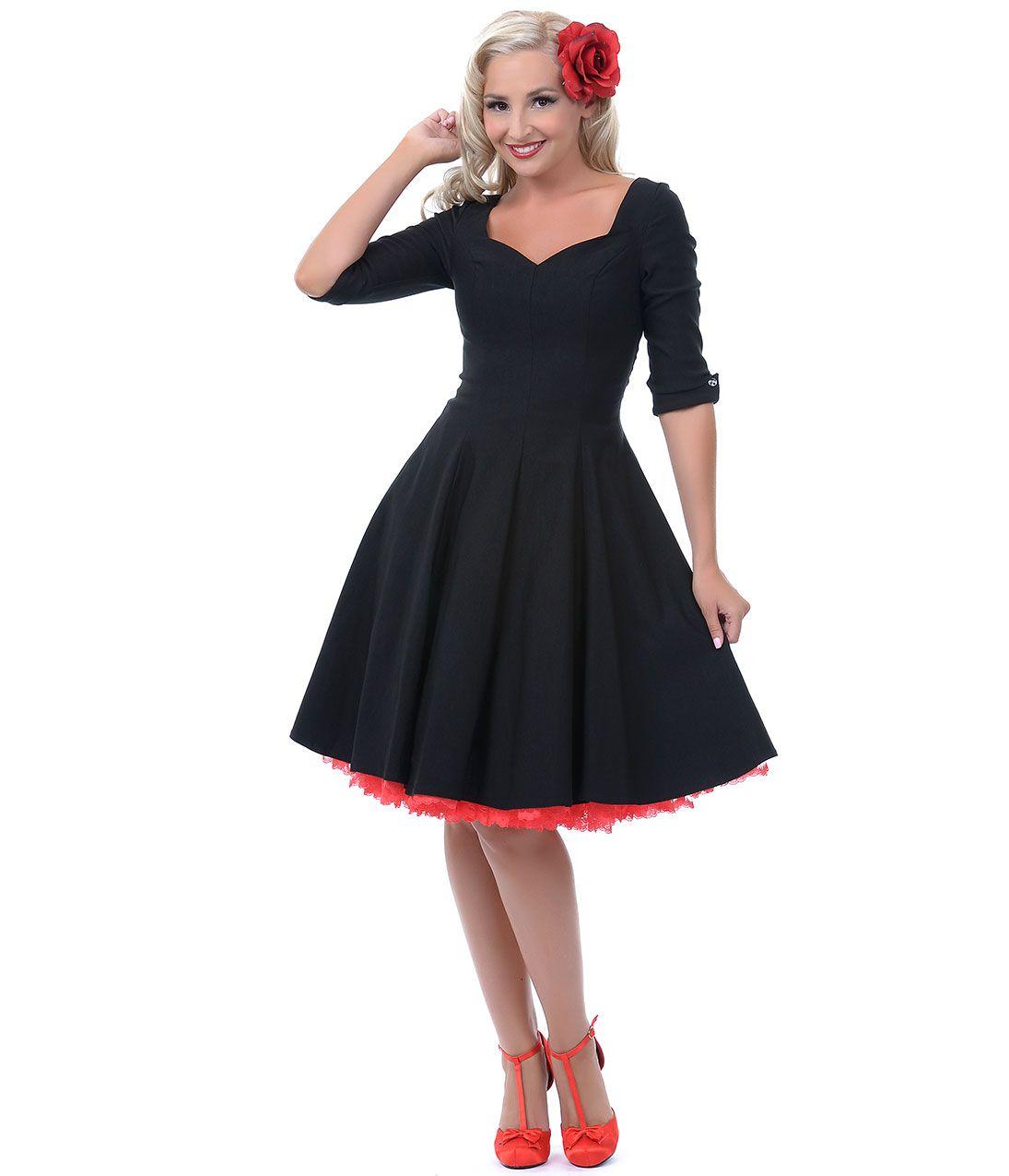 S dressesvintage dressblack dressparty dressespinup girlpin