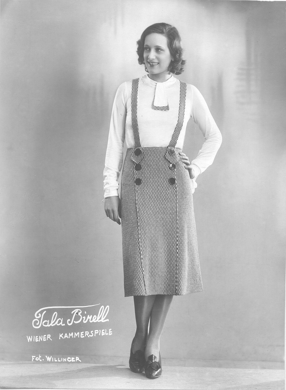 Tala Birell, 1935 | Style ~ 1930\'s | Pinterest