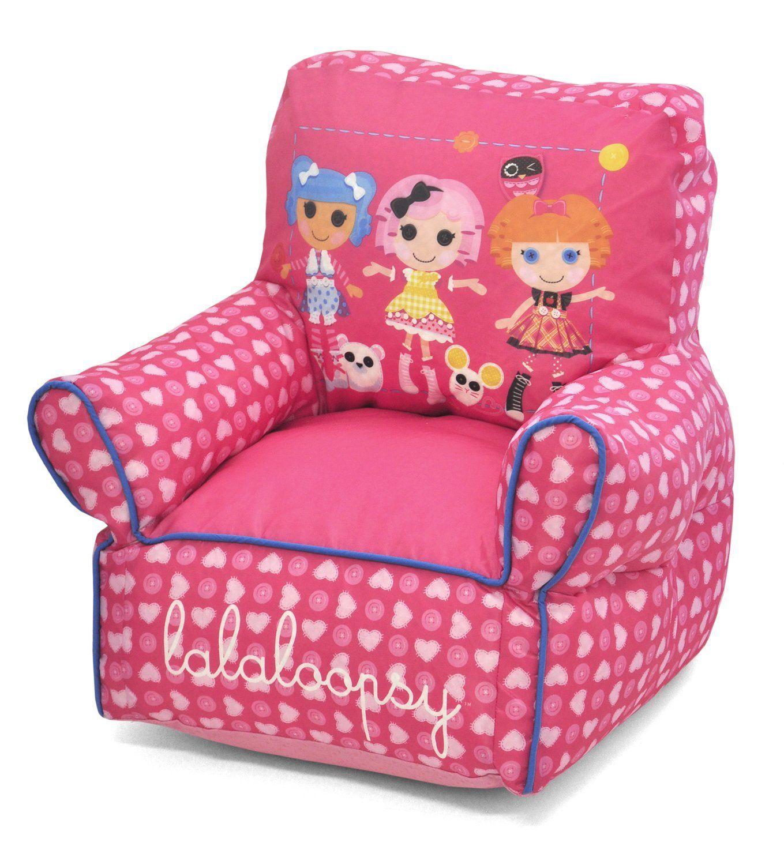 Lalaloopsy Sofa Chair Toddler bean bag chair, Bean bag