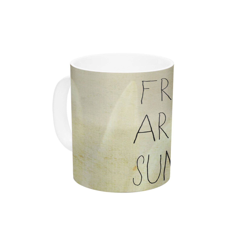 Friends & Sunshine by Rachel Burbee 11 oz. Ceramic Coffee Mug