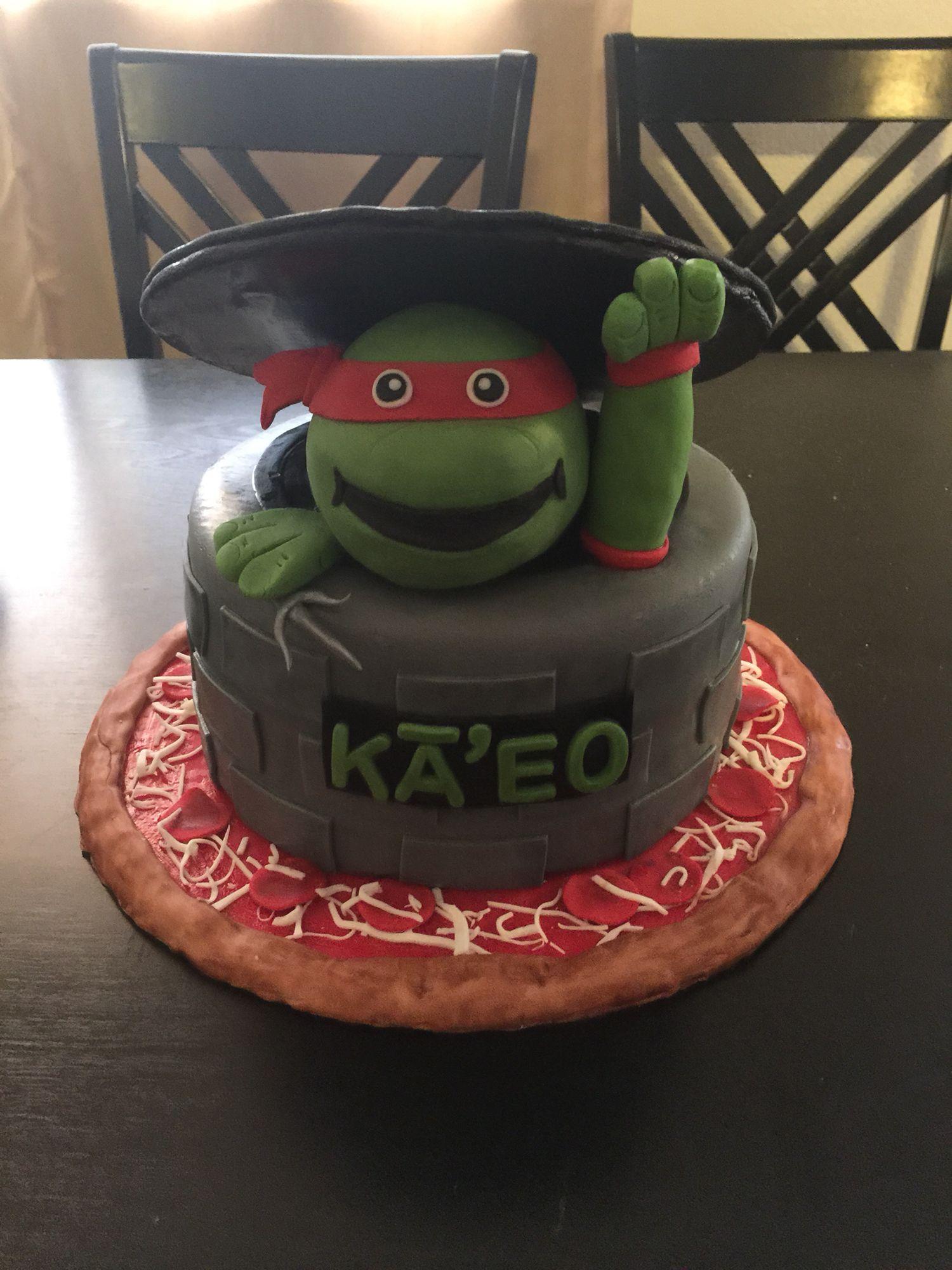 Raphael ninja turtle cake Cakes Pinterest