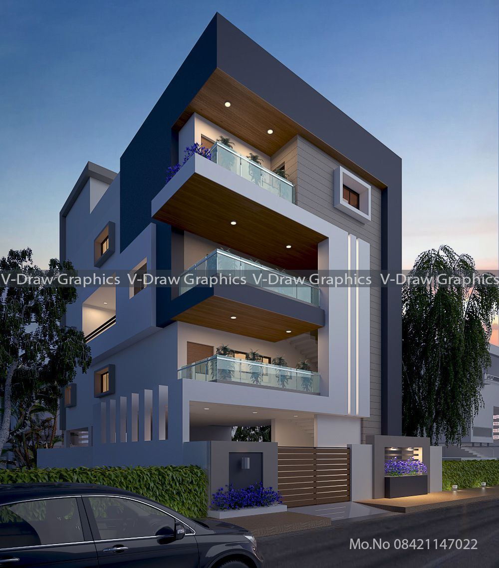 Pin By V Draw Graphics On Modern House Modern Small House Design Minimalist House Design Small House Design