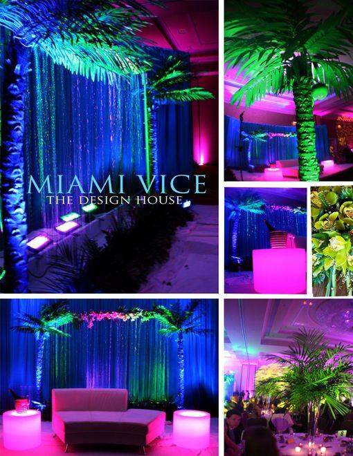 Miami Themed Wedding Maharaniweddings
