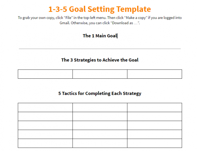 10 Effective Action Plan Templates You Can Use Now Action Plan Template Goal Setting Template Simple Business Plan Template