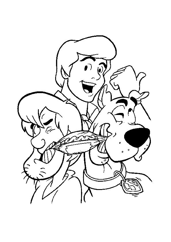 Scooby Doo Coloring Pages to Print
