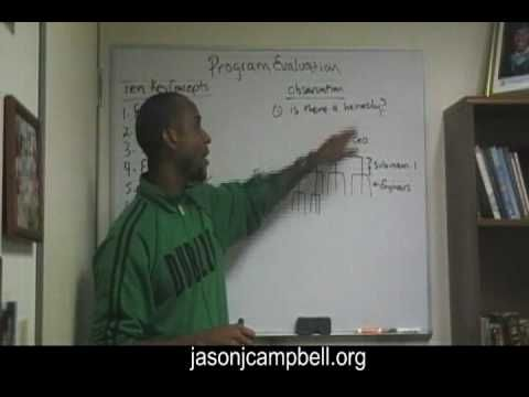 10 key concepts-What is Program Evaluation? Jason Campbell - program evaluation