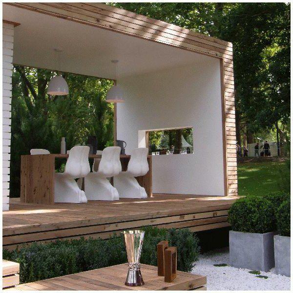 Gartendusche Sichtschutz - Ideen für die Outdoor-Dusche gesucht - ideen gartendusche design erfrischung