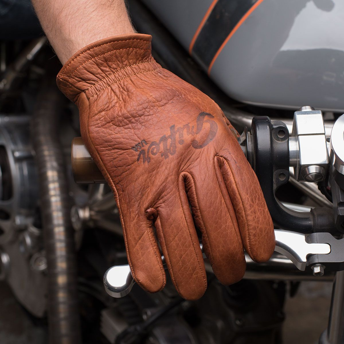 Motorcycle gloves bangalore - The Scoundrels Are Leather Motorcycle Gloves Made From American Bison That Are Hand Antiqued Conditioned Made In The Usa Available At