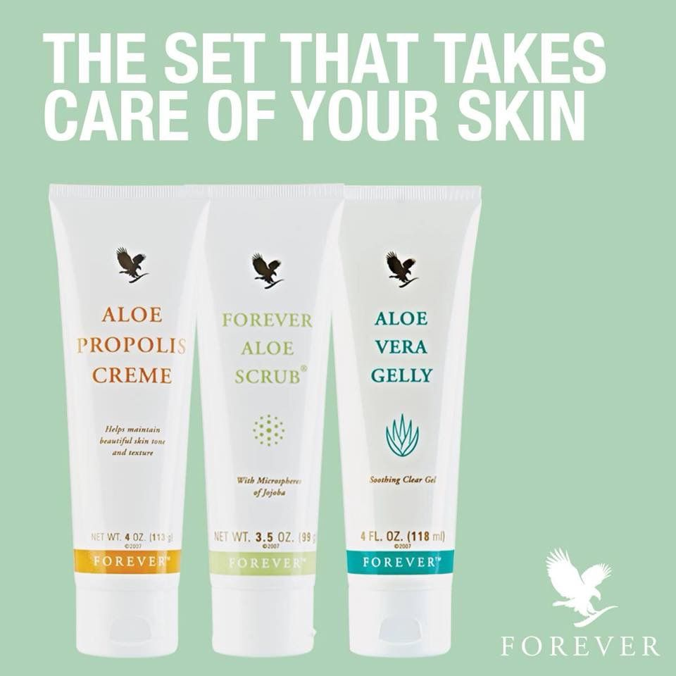 The Set That Takes Care Of Your Skin Aloe Vera Gelly Forever